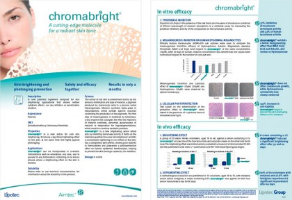 chromabright fact sheet
