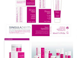 SingulaDerm Packaging