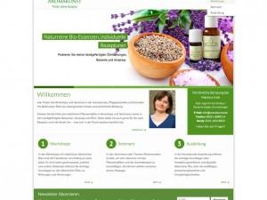 Aromakunst Website